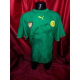 a35a844fd9d77 Camisa Camarões Puma 2006 - Futebol no Mercado Livre Brasil