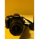 Cámara Fotográfica Cannon Eos Rebel T3