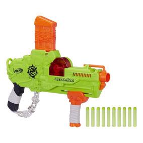 E0311 Lança Dardos Nerf Zombie Strike Revreaper - Hasbro