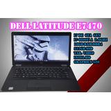 Laptop Dell I7 6ta Latitude E7470 16gb 512gb Ssd