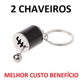 Kit 2 Chaveiros Câmbio Marcha Manual Alavanca Promoção !!!