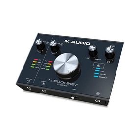 Interface De Áudio M-audio Mtrack2x2m Usb Midi - Ac1662