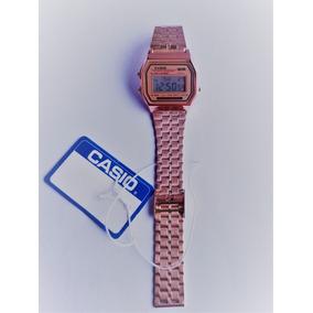 2f39c6988b6c Reloj Casio A159w Rosa - Joyas y Relojes en Mercado Libre México