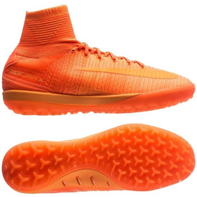 d66a5c0cd1edd Botines Futsal Nike Botitas - Botines Nike para Adultos Naranja en ...