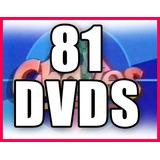 Chaves E Chapolin 81 Dvds - A Coleção Mais Completa