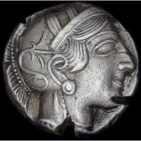 Spg Magna Grecia Atica Atenas Tetradracma 440-407 Ac Lechuza