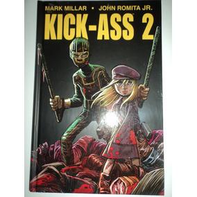 Hq-kick-ass 2:mark Millar:jhon Romita Jr.:capa Dura:novo
