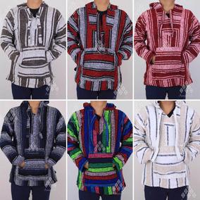 Lote 12 Piezas Chamarra Poncho Suéter De Jerga Artesanal