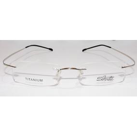 Armação De Óculos Silhouette Beta Titânio - Óculos no Mercado Livre ... ea2faf4f5a
