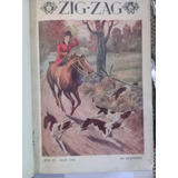 Revistas Zig Zag Año 1910 N° 293 Al N° 306