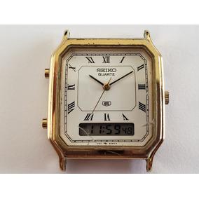 6ac258221be Relogio Seiko Anadigi - Relógios no Mercado Livre Brasil