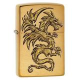 Zippo Dragón Diseño Encendedor