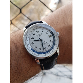 Relógio Longines Master Collection World Timer