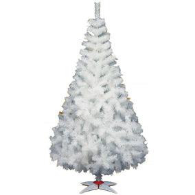 Arbol Navidad Majestic De Lujo Blanco 160cm Altura-3445001