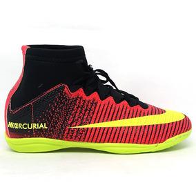 d0a01492c5 Chuteira Nike Futsal Cano Alto Mercurial - Chuteiras Vermelho no ...