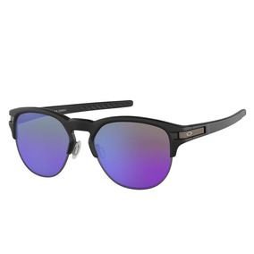 Óculos Oakley Latch Key L Matte Black W  Violet Iridium d4aed10cc7