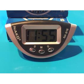 Reloj Digital A Pila Cronometro Auto Moto Camioneta