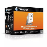 Camara Ip Trendnet Wireless N Con Audio Tv-ip572w