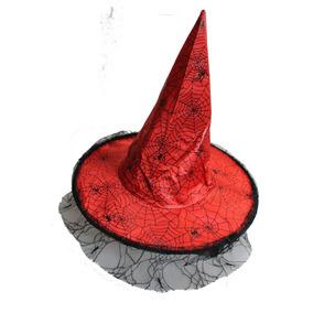 Sombrero Bruja Con Tull Halloween Cotillón Effa´s Party ba59df9b6a0