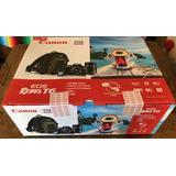 Kit Set Camara Canon Eos Rebel T6 Con Dos Lentes Mochila