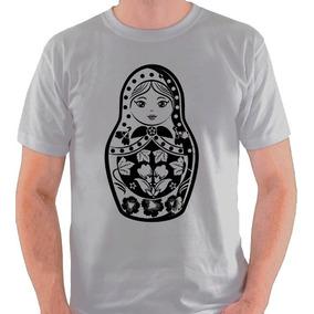Camiseta Matrioska Rússia Matrioshka Camisa Blusa e191d4873cb5e