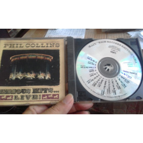 Cd Phil Collins - Serious Hits Live!