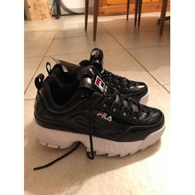 603e6bad78f94 Zapatillas Fila Disruptor Originales - Zapatillas Negro en Mercado ...