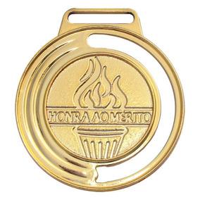 Kit 40 Medalhas Honra Ao Mérito 40mm Com Fita Campeonato