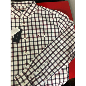 Sueteres Tommy Hilfiger Hombre Masculina Camisas Cuadrille - Ropa y ... 34cff48b70cff