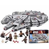 Halcón Milenario Star Wars Lego Alterno Bela 1364 Piezas