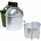 Cantil Aluminio Xepa 900ml C/ Capa Nautika