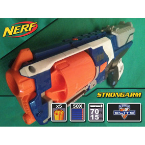 Nerf Strongarm (azul) + 50 Dardos