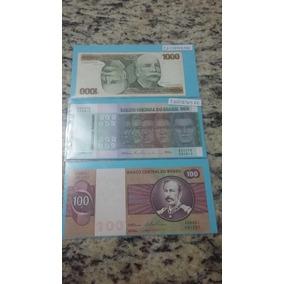 Set Completo De Cédulas De Cruzeiros 1,5,10,50,100,500, Mil.