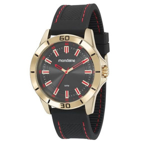Relógio Mondaime Masculino Pulseira Silicone 99375gpmvdi2