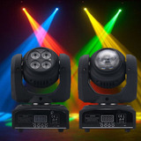 Luz Led Robótica Doble Luces Dmx Ideal Para Bar Ò Discoteca