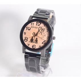 cbdf89cdb3f Relógio Pulso Feminino Mryes Dourado Pulseira Aço Dourada. Maranhão ·  Relógios Feminino Pulseira Preta Vintage Retro Em Promoção.