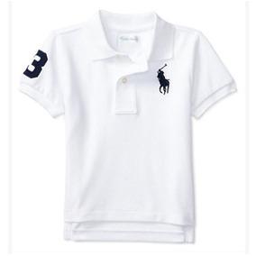 Camisa Polo Ralph Lauren Infantil - Pólos Manga Curta para Meninos ... eb0d3579e4c64