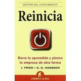 Reinicia Fried Jason & Hansson + 38 Libros Pdf De Negocios