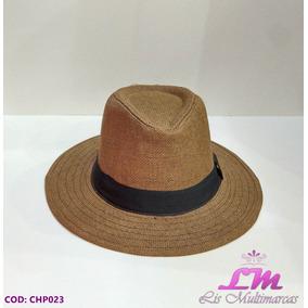 Chapéu Panamá Fedora Marrom - Tamanho 58 (aba Grande) ae6489cef64
