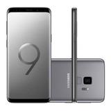 Samsung Galaxy S9+ S9 Plus 128gb Cinza Completo Lacrado Nota