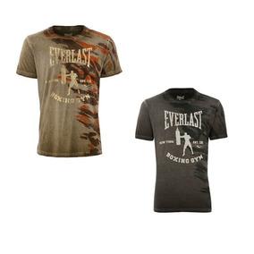 Camisa Everlast Camiseta Premium Camuflada Original