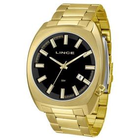 Relógio Lince Masculino Mrg4584s P1kx Casual Dourado
