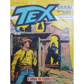 Hq Tex Coleção 37 Globo: Mina Esqueleto / 100pg 1990 (a) E06