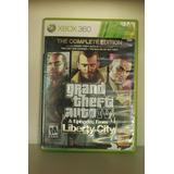 Grand Theft Auto Iv Videojuego Xbox 360