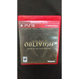 The Elder Scrolls 4 Oblivion Ps3 Goty - Usado - Wird Us