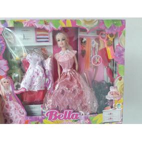 Boneca Bella Fashion Doll Com Acessorios Pronta Entrega