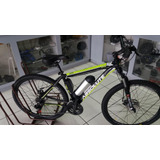 Bicicleta Aro 29 21 Vel. Elétrica De Alumínio C/ Suspensão.