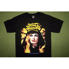 Gusanobass Playera Rock Metal King Diamond Talla Ch