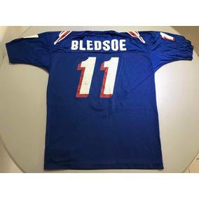Jersey Retro Nfl New England Patriots Bledsoe M 426 09e7f16ca