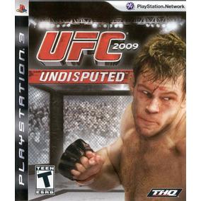 Jogo Ufc Undisputed 2009 Playstation 3 Ps3 Pronta Entrega
